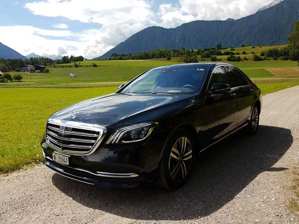 Mercedes S-Class, Luxuty sedan from Bavarian manufacture